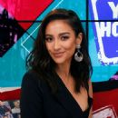 Shay Mitchell – Visits the Young Hollywood Studio in LA