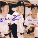 Whitey Ford, Mickey Mantle & Billy Martin - 376 x 299