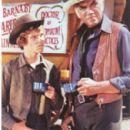 Mitch Vogel With Lorne Green On Bonanza - 273 x 399