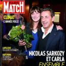 Nicolas Sarkozy, Carla Bruni - Paris Match Magazine Cover [France] (20 February 2014)