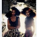 , Liya Kebede - Vogue Magazine Pictorial [United States] (January 2014)