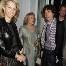 Mick Jagger and L'Wren Scott attend Finch's Quarterly Cannes Dinner 2010 at the Hotel du Cap as part of the 63rd Cannes Film Festival on May 17, 2010 in Antibes, France - 382 x 594