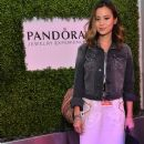 Jamie Chung attends the Siwy Denim fashion show at the PANDORA Jewelry Experience #ArtofYou on April 10, 2015 in Palm Springs, California - 371 x 600