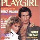 Pierce Brosnan and Cassandra Harris