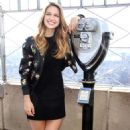 Melissa Benoist – 'Supergirl' Promo Pics on The Empire State Building New York City
