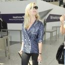 Kirsten Dunst: out of Heathrow Airport to Cannes
