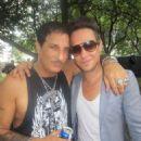 Jamie Hince of the #Kills with Nur Khan…enjoy… August 6, 2011