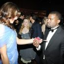 Angela Martini and Kanye West
