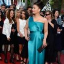 Aishwarya Tied At The Premiere Of Cleopatra At The 66th Cannes Film Festival