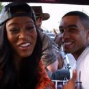 Keke Palmer and Lucien Laviscount - 454 x 454