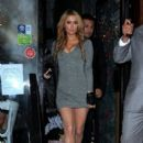 Paris Hilton spotted out for drinks at Streaky Gin before her DJ set at Bonbonniere Club
