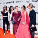 Christen Press, Tobin Heath, Megan Rapinoe, Ali Krieger and Ashlyn Harris at the Glamour Women of the Year Gala - 454 x 522