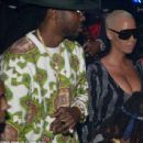 Amber Rose Attends Drake New Years Party at E11EVEN Club in Miami, Florida - January 1, 2016 - 454 x 436