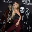 Annalynne McCord – Knott's Scary Farm Opening Night in Buena Park, CA 9/30/2016 - 454 x 425