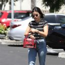 Lucy Hale – Arrives at the Coffee Bean in Studio City
