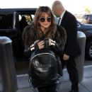 Paula Abdul – Arriving at LAX Airport in Los Angeles - 454 x 681