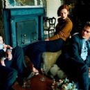 Karen Elson, Hugh Dancy, Michael Shannon - Vogue Magazine Pictorial [United States] (October 2013) - 454 x 310