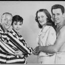 The Pajama Game Original 1954 Broadway Cast Starring John Raitt and Janis Paige . In 1957 Doris Day Starred In The Movie Version Again With John Raitt - 454 x 371