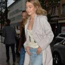 Gigi Hadid – Arriving at a video shoot in London