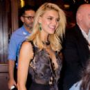 Kelly Rohrbach at the Borchardt Restaurant in Berlin - 454 x 303