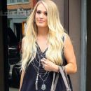 Carrie Underwood – Leaves Electric Lady Studio in New York - 454 x 680
