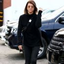 Sofia Richie – Goes brunette in Beverly Hills