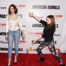 Quinn Shephard and Nadia Alexander – 'American Animals' Premiere in New York - 454 x 502