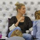 Cameron Diaz and Nicole Richie at a Nail Salon in Beverly Hills - 454 x 541