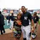 Marilyn Milian & Alex Rodriguez of The N.Y. Yankees - 454 x 340