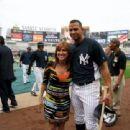 Marilyn Milian & Alex Rodriguez of The N.Y. Yankees