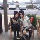 Hannah Beth and Trace Cyrus
