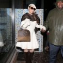 Mariah Carey shops for the perfect post Christmas gift for herself at Louis Vuitton in Aspen, Colorado on December 27, 2014