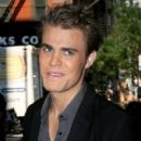 Paul Wesley was on Live With Regis and Kelly this morning, September 12