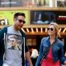Laura Vandervoort and Michael Rosenbaum