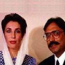 Benazir Bhutto and Asif Zardari - 290 x 235