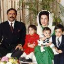 Benazir Bhutto and Asif Zardari - 400 x 317