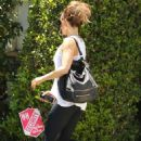 Kate Beckinsale out running errands in Brentwood