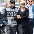 Singer Pink and her husband Carey Hart out shopping in New York City, New York on April 27, 2014 - 361 x 594