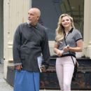 Chloe Moretz on the set of 'Louis C.K. Untitled Film Project' in NYC