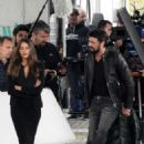 Sofia Vergara – Filming 'Bent' in Rome - 454 x 660