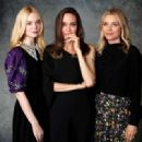 Elle Fanning, Angelina Jolie and Michelle Pfeiffer – Promote 'Maleficent' 2019
