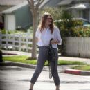Holland Roden out in Los Angeles February 16, 2018 - 454 x 551