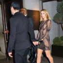 Paris Hilton – Arrives at Rihanna's 30th Birthday Party in New York City