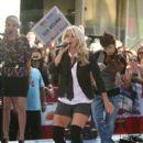 Carrie Underwood Performs in Rockefeller Center