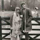 Peter Cook and Judy Huxtable, 21.01.1971 - 454 x 614