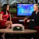Vaness Hudgens on The Ellen DeGeneres Show - March 22, 2011