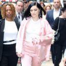 Jessie J at Good Morning America in New York - 454 x 572