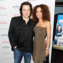 "Actor Federico Castelluccio and Yvonne Maria Schaefer attend The Cinema Society screening of ""Multiple Sarcasms"" at AMC Loews 19th Street on April 19, 2010 in New York City"