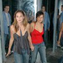 Elena Anaya - Van Helsing Fortress Dracula May 2004 (with Josie Maran)