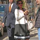 Eva Mendes Out and About In Nyc